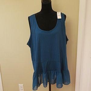Blue Lane Bryant shirt(brand new)